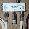 Areglar señal de cable de antena desde entrada de la casa a cuarto