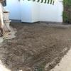 Sembrar césped y allanar jardín