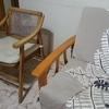 Tapizar 3 sillones y 2 sillas