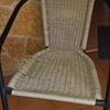 Hacer dos sillas en mimbre