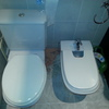Quitar un bidé y desplazar un poco el wc
