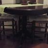 Lacar mesa madera