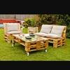 Tapizado para sillones de palets de madera