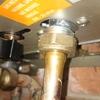 Pérdida de gas por racor de caldera