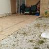 Poner suelo de hormigón impreso en patio