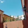 Acristalar techo del patio