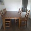 Pintura o lacado muebles de madera