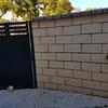 Solar el patio y subir el muro