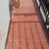 Cambiar baldosas de balcón esquinero