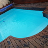 Gresite en piscina fibra