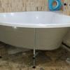 Instalación bañera y lavabo