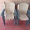 Tapizado sillas jardín