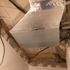 Instalación de techo de escayola en baño