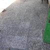 Limpiar patio exterior vivienda casa unifamiliar