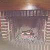Instalación puerta chimenea