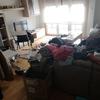 Limpieza de un piso