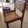Sustituir asientos de rejilla tejidos a mano