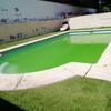Eliminar agua verde piscina