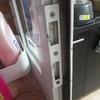 Dos persianas aluminio y reparación pomo