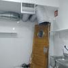 Instalación de aire acondicionado y extractor de cocina