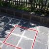 Levantar y Recolocar Suelo de Pizarra de 70 x70 cm