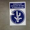 Suministrar carteles para señalización de obra
