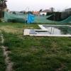 Hormigon alrededor de una piscina,