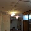 Trasdosado  techo en reforma de local comercial
