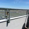 Instalación de valla perimetral en ático