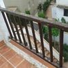 Barandilla aluminio para terraza