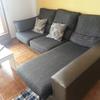 Tapizar un sofá con chaise longe