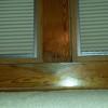 Reparacion madera de velux gotera
