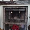 Estufa pellets en chimenea