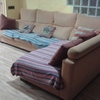 Tapizar 1 sofá con textura