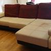 Tapizar sofa con chaise longe grande