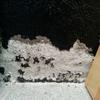 Tratamiento humedad por filtración un una pared del garaje