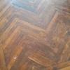 Lijar y barnizar suelo de madera