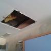 Arreglo en falso techo habitación