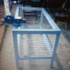Estructura metálica para mesa
