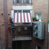 Cerrar terraza con carpintería de aluminio