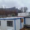 tejado en una casa de campo prefabricada