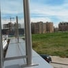 Barandilla de cristal y metal para terraza
