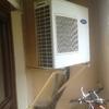 Bajar aparato exterior aire acondicionado hasta suelo