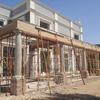 Suministro y colocación de suelo tarima madera sintética porche exterior
