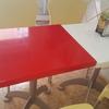 Lacar 13 mesas 40 ×50 blanco o rojo