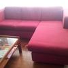 Limpieza sofá 3 plazas + chaise longue con mancha de aceite