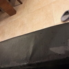 Tapizar un sofá de comedor que se está pelando