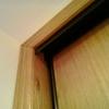 Colocacion puerta y armario en chalet