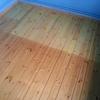 Lijado y barnizado suelo de madera