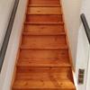 Forrar escalera con parquet